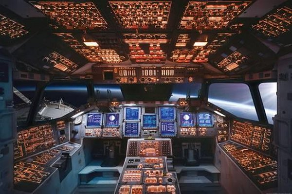 Space Shuttle Cockpit Columbia