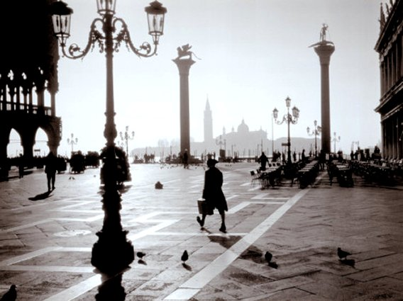 Piazetta near St. Mark's Square, Venice, Italy, Art Print