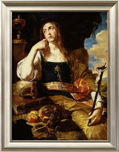 St Mary Magdalene by Abraham Janssens