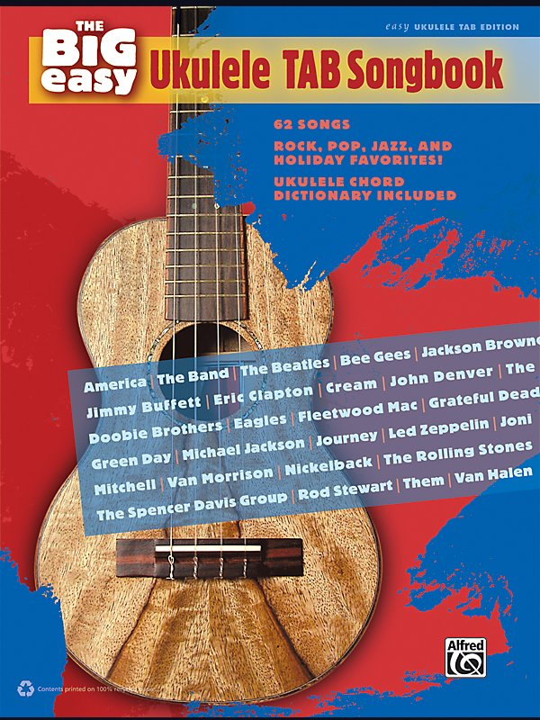 Alfred - The Big Easy Ukulele Tab Songbook