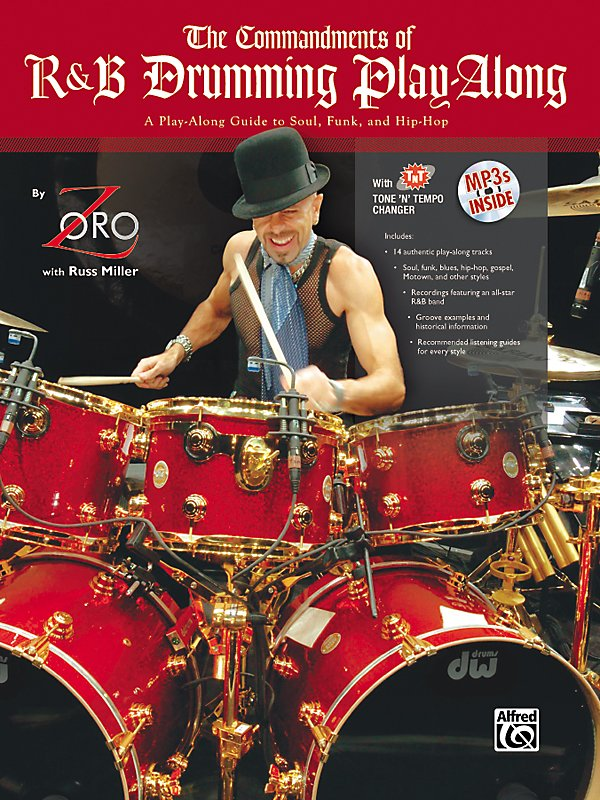 Alfred - The Commandments Of R&B Drumming Play-Along - By Zoro (Book/Cd)