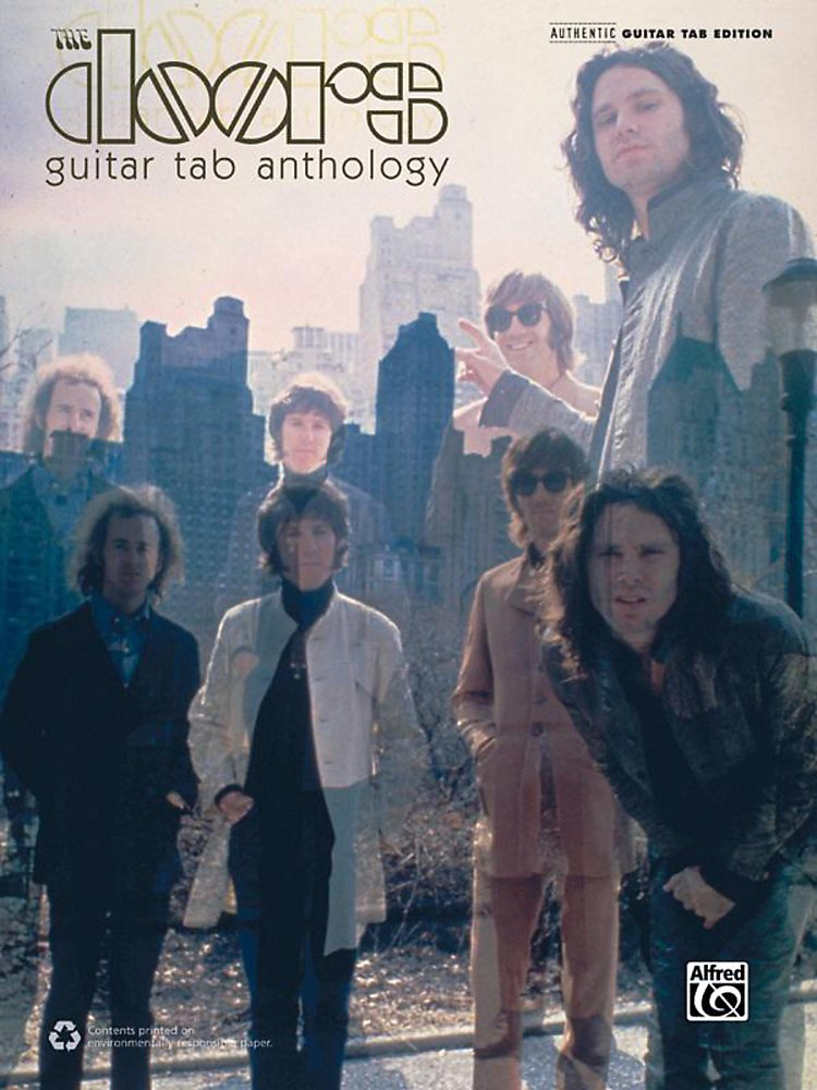 Alfred - The Doors Guitar Tab Anthology Book