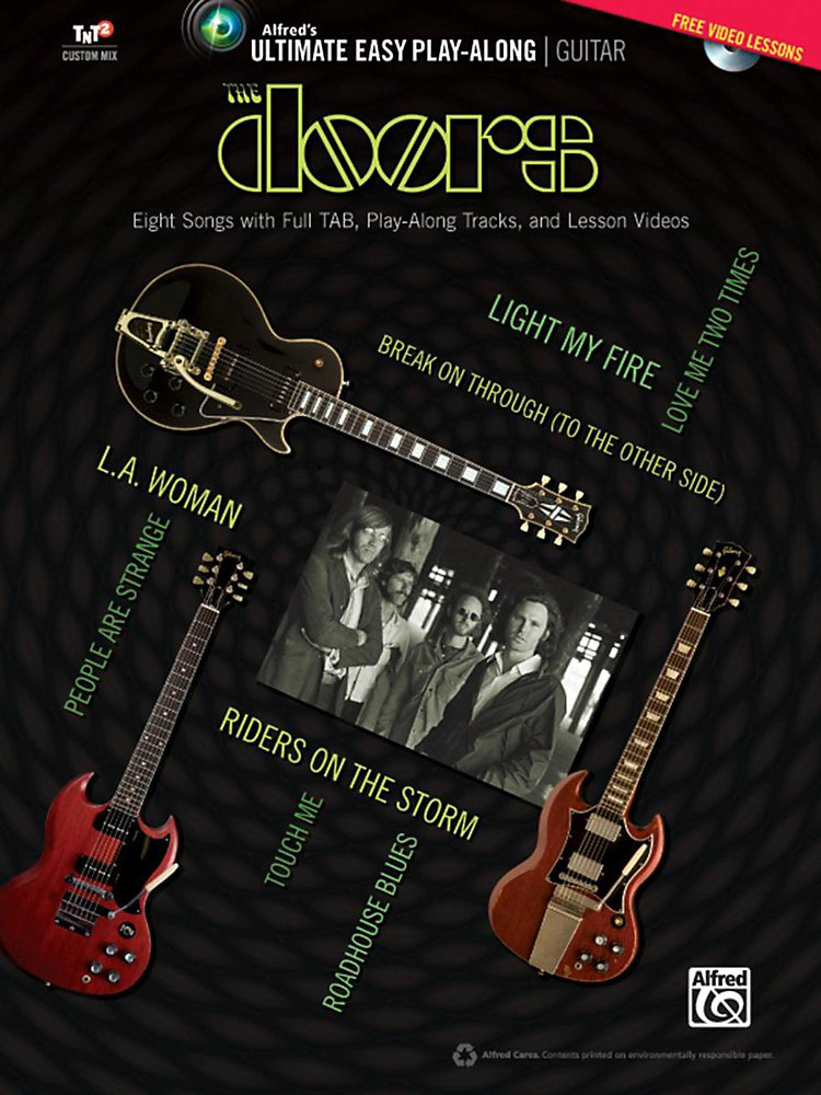 Alfred - The Doors - Ultimate Easy Guitar Play-Along Easy Guitar TAB Book & DVD
