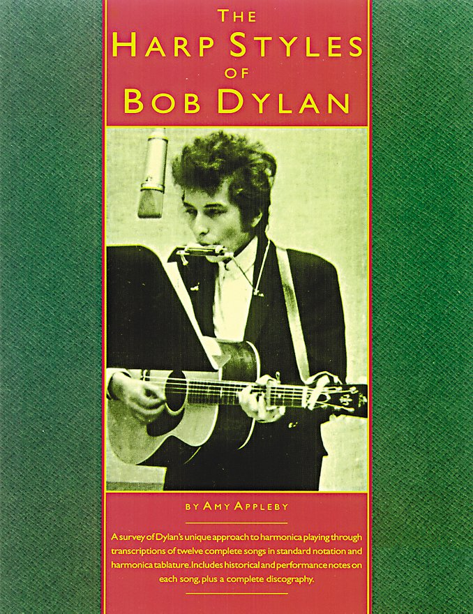 Music Sales - The Harp Styles Of Bob Dylan (Book)