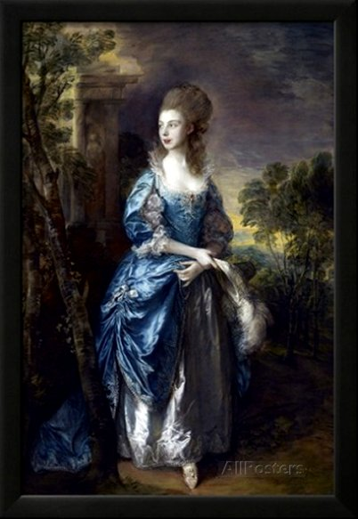 The Hon. Frances Duncombe by Thomas Gainsborough
