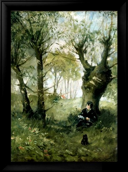 The Old Track to Auvers, 1863 by Berthe Morisot