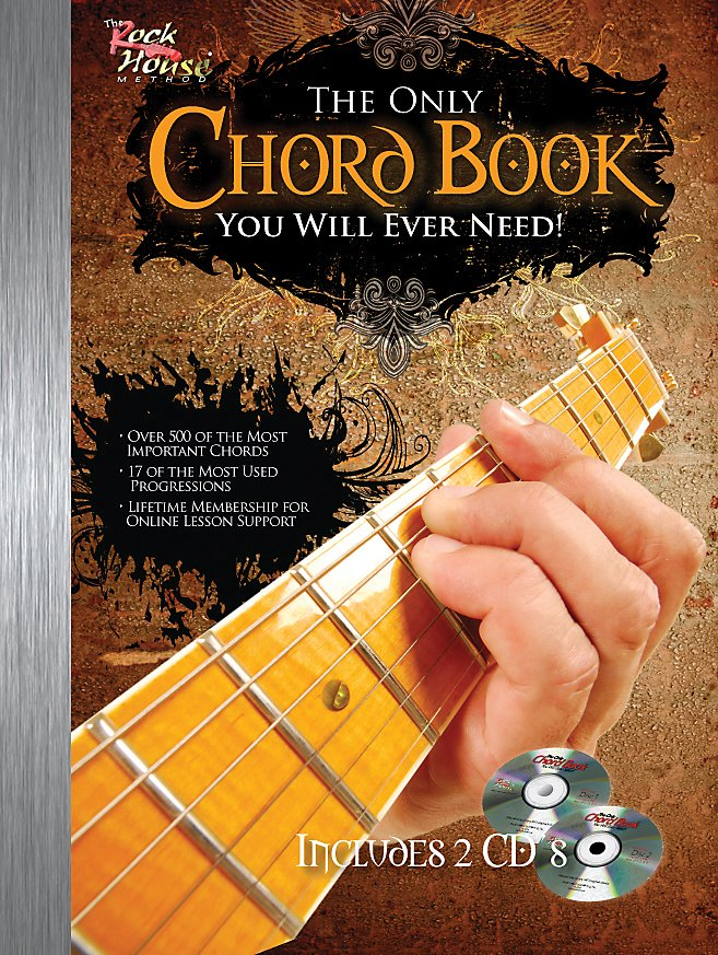 Hal Leonard - The Only Chord Book You Will Ever Need For Guitar - Book/Audio Online