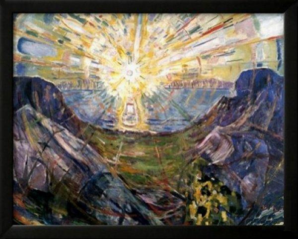 The Sun, 1912 by Edvard Munch