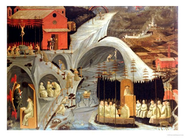 The Thebaid, c.1460 by Paolo Uccello