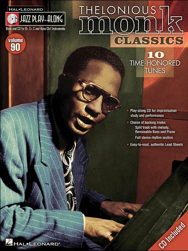 Hal Leonard - Thelonious Monk Classics - Jazz Play-Along Volume 90 (CD/Pkg)
