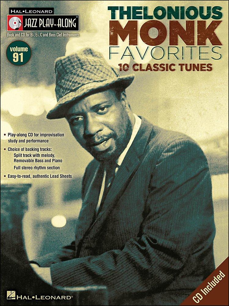 Hal Leonard - Thelonious Monk Favorites - Jazz Play-Along Volume 91 Cd/Pkg