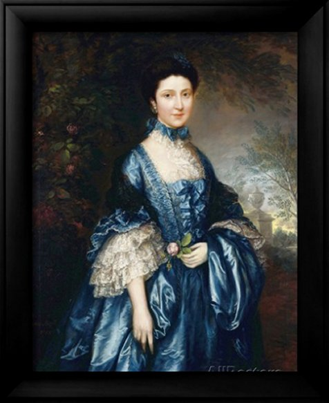 Portrait of Miss Theodosia Magill, Countess Clanwilliam, 1765 by Thomas Gainsborough