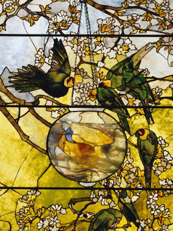 Tiffany-Parakeets-and-Gold-Fish-Bowl-1893