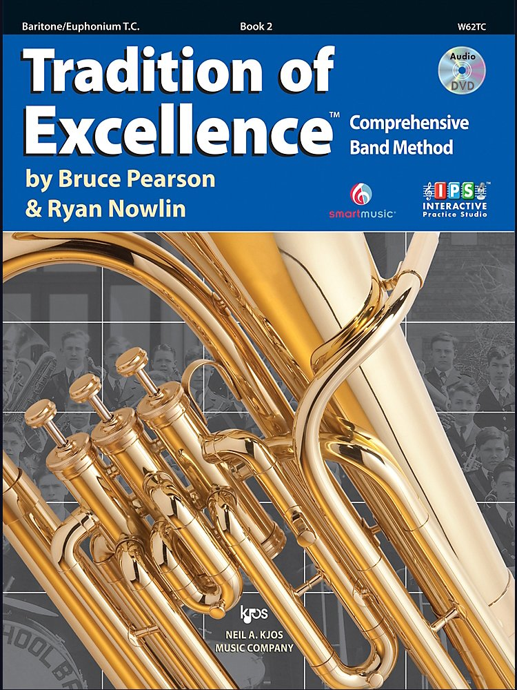 Kjos - Tradition Of Excellence Book 2 For Baritone Tc