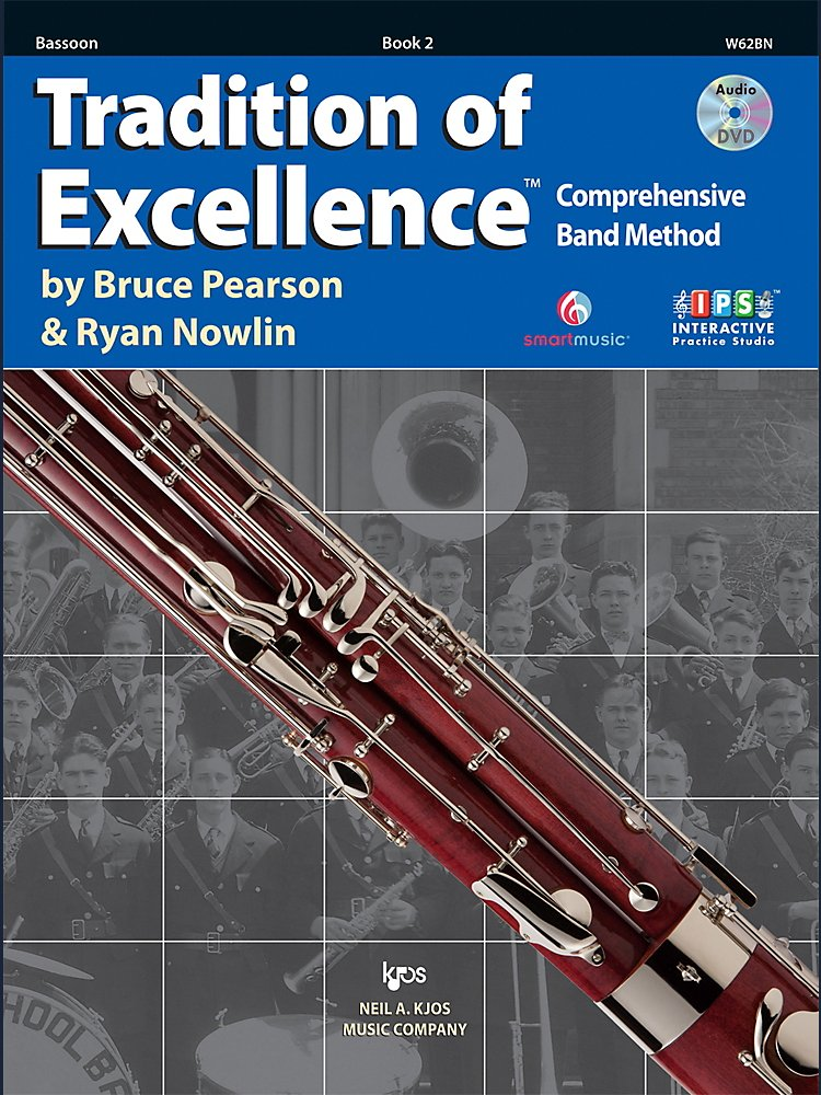 KJOS - Tradition Of Excellence Book 2 for Bassoon