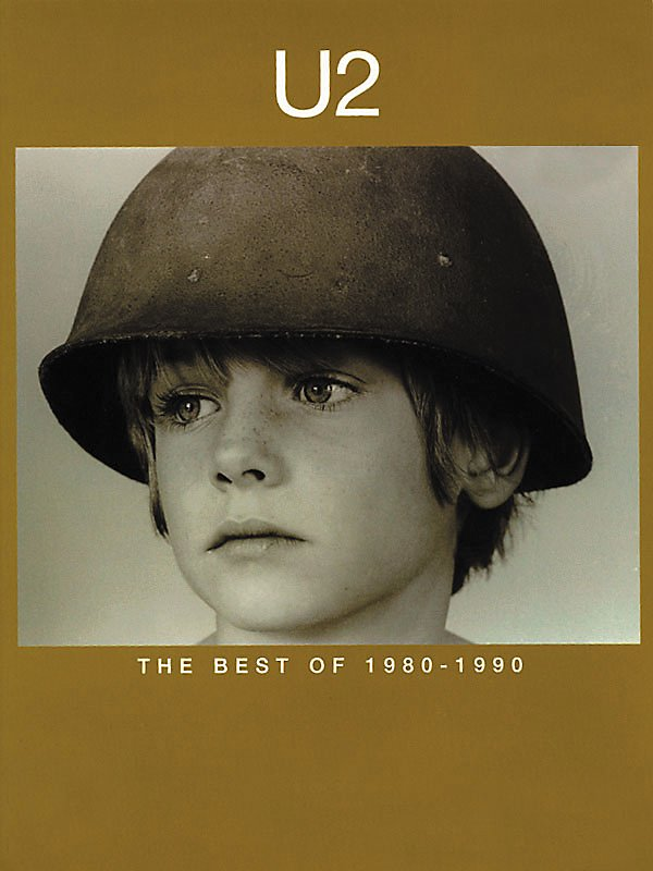 Hal Leonard - U2-Best of 1980-1990 Piano, Vocal, Guitar Book