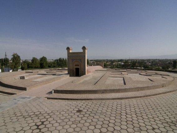 Ulugh Beg's Observatory, UNESCO World Heritage Site, Samarkand, Uzbekistan