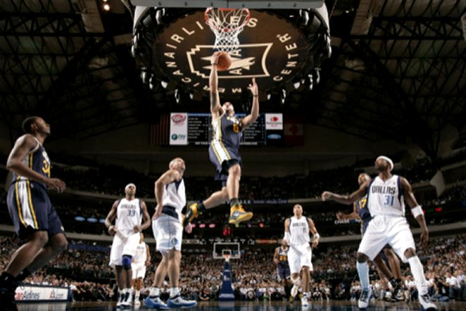 Utah Jazz v Dallas Mavericks: Deron Williams and Jason Kidd