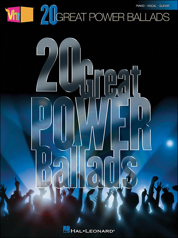 Hal Leonard - Vh1's 20 Great Power Ballads [Book]
