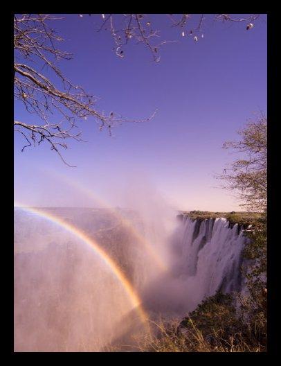 Victoria Falls, Zambia, Art Print