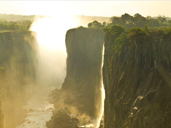 Victoria Falls, Zambia, Unesco World Heritage Site, Poster