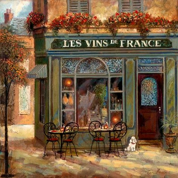 Wine Shop by Ruane Manning, Art Print