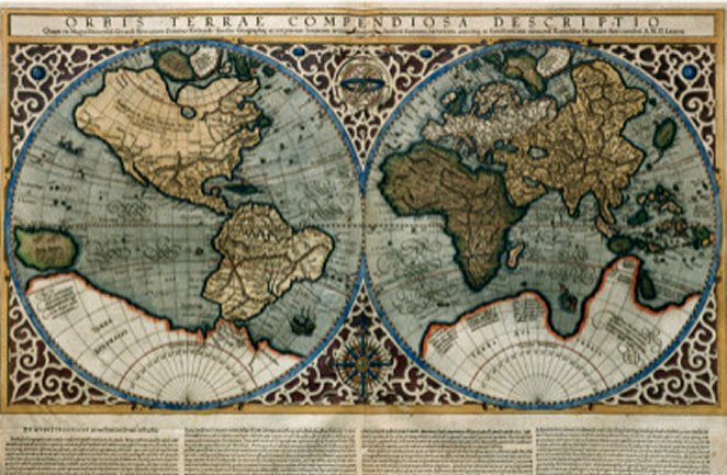 World Map by Gerardus Mercator