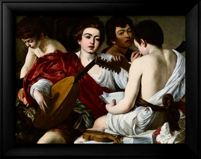 Allegory of Music - Michelangelo Caravaggio