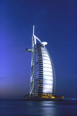 Burj Al Arab Arabian Tower, UAE, Art Print