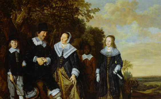 Family Group - Frans Hals