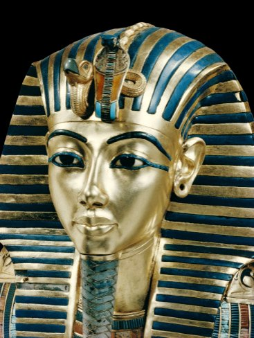 Egypt - Gold Funerary Mask of Tutankhamun, Museum Cairo