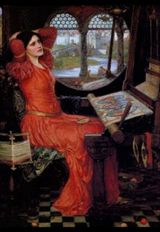 I Am Half Sick of Shadows, said the Lady of Shalott, C1911 by John William Waterhouse