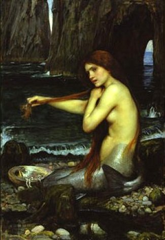 A Mermaid, 1900 by John William Waterhouse