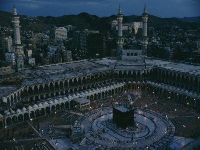 Mecca, Saudi Arabia, Art Print