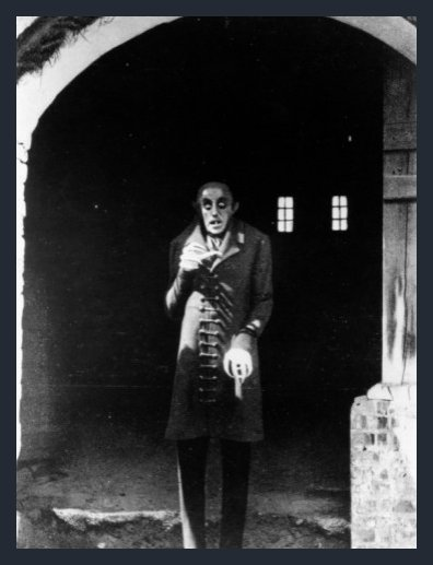Max Schreck. 'Nosferatu' 1922, 'Nosferatu, Eine Symphonie Des Grauens' - Directed by F. W. Murnau