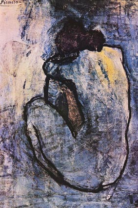 Blue Nude - by Pablo Picasso