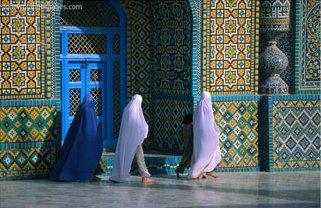 Mosque, Afghanistan, Art Print