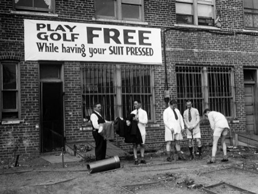 Free Golf - Art Print
