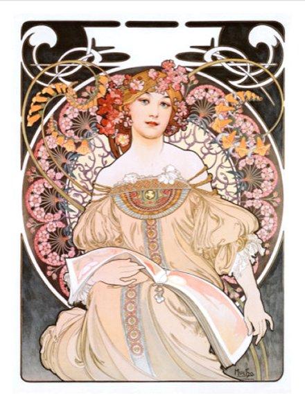 Reverieby Alphonse Mucha, Giclee Print