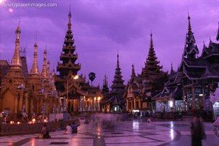 Shwedagon Pagoda, Yangon, Myanmar, Art Print
