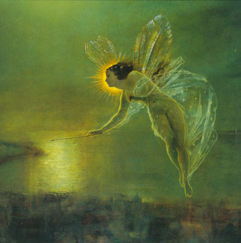 Spirit of the Night by John Atkinson Grimshaw, Fairy