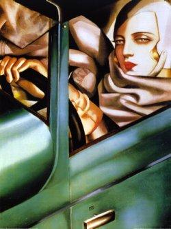 Tamara de Lempicka, art print