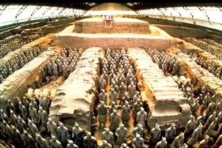 Terracotta Army, Qin Dinasty 210 BC, Art Print