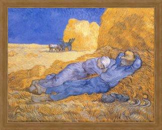 The Afternoon Siesta by Vincent van Gogh, Art Print
