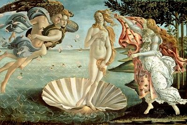 The Birth of Venus by Sandro Botticelli - art print