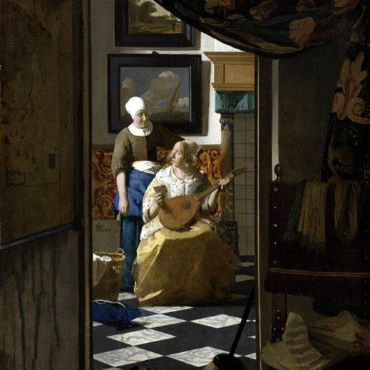 The Love Letter - Jan Vermeer