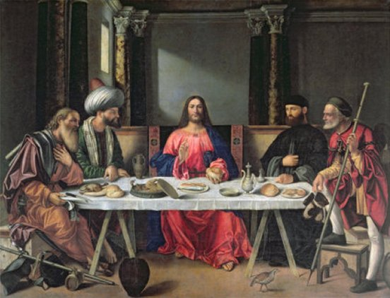 The Supper at Emmaus by Giovanni Bellini