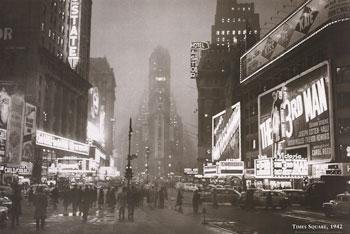 Times Square, Art Print