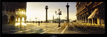 Piazetta, Venice, Italy, Art Print